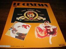 VIVIEN LEIGH & CLARK GABLE - TOM & JERRY  Mini poster COUV DE MAG LE CINEMA !!!!