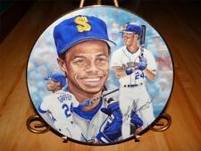 """The Kid"" Ken Griffey Jr. by Michael Taylor Gartlan Usa Baseball Plate"