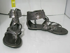 Summer Steel Womens Shoes Roman Gladiator Sandals Size 5.5