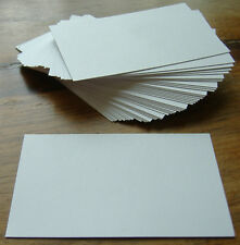 100 White Blank Business Cards 250gsm, Stamp, Print, ATC. Ultra Smooth Card