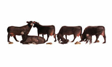 Woodland Scenics Black Angus Cows A1955 HO Scale 1:87 NEW