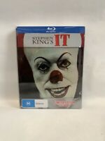 IT Limited Edition Steelbook Warner Bros AU BLU-RAY Stephen King TV movie horror
