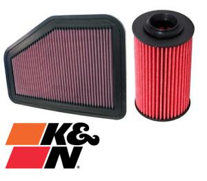 K&N FILTER SERVICE KIT FOR HOLDEN STATESMAN WM ALLOYTEC SIDI LY7 LLT 3.6L V6