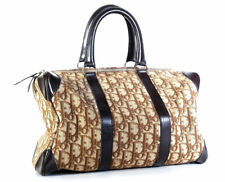 Christian Dior Handbag Vintage Brown Trotter 1970's Doctor Speedy Bag *LOVELY*