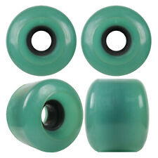 Longboard Cruiser Wheels Set 59mm x 45mm 83a Turquoise Usa Made
