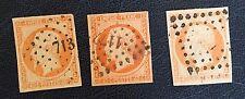 France N°16 40 C Orange Les Trois Nuances a b Côté 80€