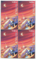 Australia 2000 space launch site block of 4 MNH