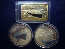 Titanic Commemorative Coins and Medal Lot B