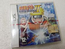 NINTENDO DS NINTENDO DS NARUTO NINJA DESTINY II EUROPEAN VERSION SEALED