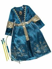 Brave Girls Disney Princess Merida Costume, bow & arrow Fancy Dress 3-10 Years