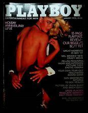 VINTAGE Playboy Magazine January 1978 VG Jean-Paul Sartre UFOs Playmate Review
