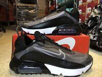 W Nike Air Max 2090 Black White CK2612-002 Women's Size 10