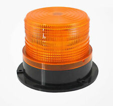 Car Bus Beacon Strobe Emergency Warning Alarm LED Flash Light Amber DC12V/60V UK
