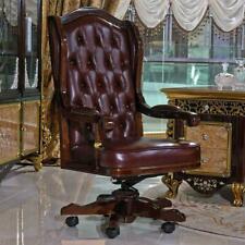 Siège de Direction Chaise Bureau Tournante Cuir Meubles Assis Drehstühle E61