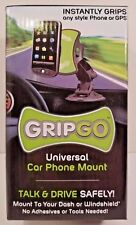 GRIP GO UNIVERSAL CAR PHONE/GPS MOUNT DASH OR WINDSHIELD NEW OPEN BOX