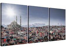 Süleymaniye Mosque - Islamic Canvas Multi Set of 3 - 125cm Wide - 3274