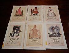 6 American Girl Book Lot Kirsten Addy Samantha Felicity 1 hardback 4 1st edition