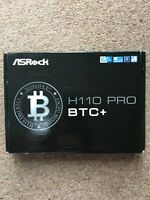 ASRock H110 PRO BTC+  13GPU Crypto mining, Motherboard CPU 7th & 6th Gen BNIB