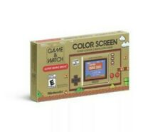 Nintendo Game and Watch Super Mario Bros Color Screen Handheld 35th Anniversary