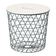 New Storage table KVISTBRO Turquoise,44 cm,Steel, Pigmented epoxy/polyester