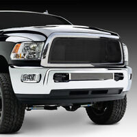 10-17 DODGE RAM Trucks 2500+3500+HD Replacement Black Billet Grille+Chrome Shell
