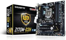Gigabyte Z170M-D3H - mATX Motherboard for Intel Socket 1151 CPUs