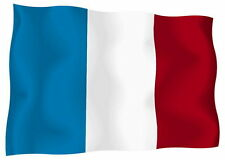 Sticker decal vinyl decals national flag car ensign bumper france french