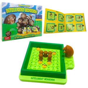 Intelligent Hedgehog Run In Maze Board Game Kids Intellectual Funny Toy AU Stock