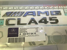 "2018 "" CLA45 + AMG"" High quality Rear Trunk Emblem Decal Badge FOR Mercedes Benz"