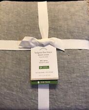 Pottery Barn BELGIAN FLAX LINEN DUVET COVER, King.Cal King, New  W/$329.00 tag