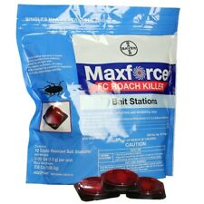 12 Maxforce FC Roach Bait Stations Bayer Roach Control Stations