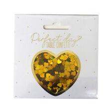 Perfect Day Table Confetti, Mini Gold Hearts