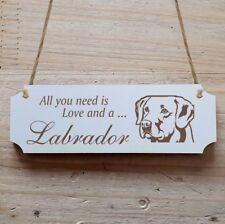 Türschild Dekoschild « Labrador 01 » Hund
