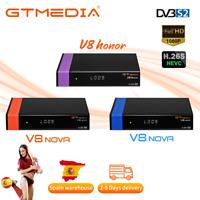 Receptor de TV Set top box GTMEDIA V8Nova DVB-S2 SCART AVS+ Decorde WIFI Full HD