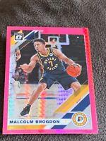 2019-20 Donruss Optic Malcolm Brogdon Hyper Pink Prizm