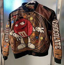 New listing Rare M&M's Jh Design Nascar Collectible Racing Jacket Coat