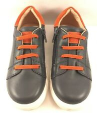 Tucker + Tate Navy Leather Fashion Sneakers Youth Size 12M