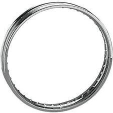 Drag Specialties Chrome 40 Spoke Custom Spun Steel Rim DS-380318 26514 DS-380318