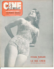 CINE ROMAN 243 (29/1/50) SYLVANA MANGANO SHIRLEY TEMPLE CLARK GABLE KIRK DOUGLAS