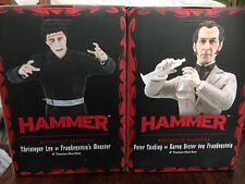 Hammer Horror Peter Cushing And Christopher Lee As Victor Frankenstein & Monster
