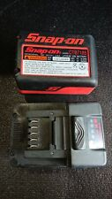 Snap-On 18v CTB7185 Lithium Ion Battery - 2 Batteries Included