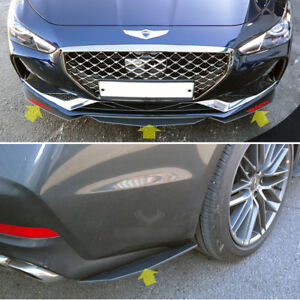 Front or Rear Lip Wing Canard Molding for 2018 Hyundai Genesis G70
