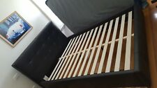 Queen size leatheret bed frame