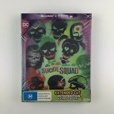 Suicide Squad (Lenticular Digibook) (Blu-ray, 2016) *New & Sealed*