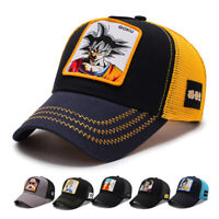 Goku Dragon Ball Z Cap Trucker Snapback Hat 2019 Goku Vegetta Hat Baseball Caps