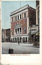 Newark New Jersey Empire Theatre Street View Antique Postcard K44139