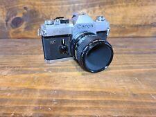 Canon FTB QL 35mm Film SLR Camera w/ Canon 50mm Lens