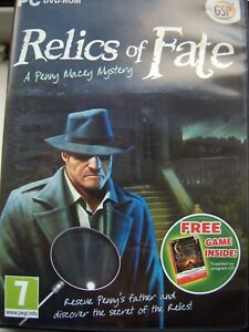 2 GAME PACK--RELICS OF FATE---A PENNY MACEY MYSTERY--HIDDEN OBJECT GAME--PC DVD