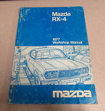 1977 Mazda RX-4 Service Repair Workshop Manual