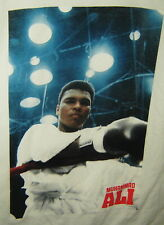 MUHAMMAD ALI BOXING T-SHIRT CASSIUS CLAY WHITE ROBE ADULT MENS SIZE L